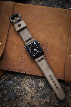 Alligator apple watch band and crocodile apple watch band strap for sale. all our apple watch series 4 bands are handcrafted by craftsmen. Apple Watch Accessories, Leather Accessories, Cool Watches, Watches For Men, Leather Watch Bands, Apple Watch Bands Mens, Men Watch, Bracelet Cuir, Fashion Watches