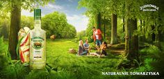 """""""Friendly by nature"""" – under this slogan a new campaign, developed by UP Agency, was launched for Żubrówka, a popular polish vodka brand. In cooperation with the agency we've created two key visuals for different flavors of vodka. Our main goal was to cre…"""