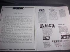 Dinosaur, Pre-Dinosaur Jr Band, J. Mascis, Lou Barlow, Murph, SST Records Promo!
