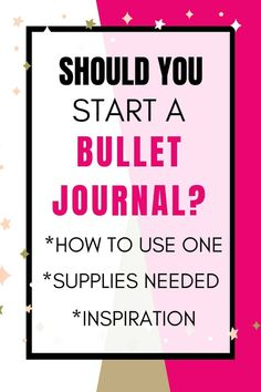 What is a bullet journal? Is starting a bullet journal right for you? What supplies and tools do you need to get started? Click through for a comprehensive breakdown of starting and maintaining a bullet journal.