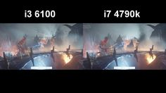 Here you'll see the new 6100 skylake versus the gaming performance on The witcher 3 Ultra settings the difference and the result between those to. The Witcher 3, Gaming, Concert, Videogames, Concerts, Game