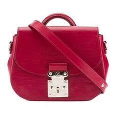 Louis Vuitton Fuchsia Epi Leather Eden PM Bag (Pre Owned)