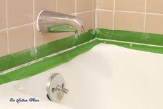 How To Caulk A Bathtub/Repair Grout