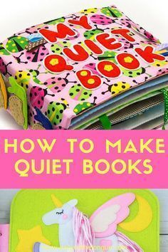 Quiet Books are ideal to keep little ones busy whilst learning. Pages are normally created around a specific theme and Development and sensory activities are included. Diy Quiet Books, Baby Quiet Book, Felt Quiet Books, Diy Busy Books, Book Activities, Toddler Activities, Sensory Activities, Indoor Activities, Activity Books