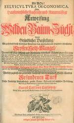 """Mit seinem 1713 erschienenen Werk """"Sylvicultura Oeconomica"""" prägte der sächsische Oberberghauptmann Hans Carl von #Carlowitz den Begriff #Nachhaltigkeit.  Mehr erfahren in unserem #Blog: https://www.kaufhaus.com/blog/Nachhaltigkeit-Ein-Schlagwort-mit-300-jaehriger-Geschichte--51 (©Verlag Kessel/www.forstbuch.de)"""