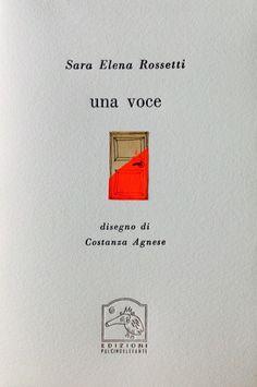 9114. Sara Elena Rossetti, Una voce - Disegno di Costanza Agnese_pag 1