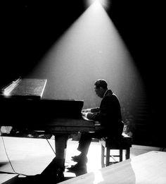 Duke Ellington at the Fairfield Hall, Croydon, England, 1963. Photo by John Pratt.