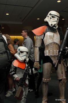 Storm Trooper and mini-trooper