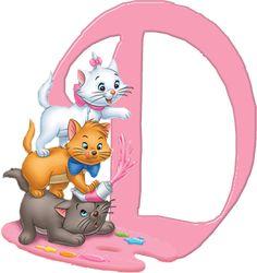 D Aristocats Alphabet (Oh My Alfabetos!)