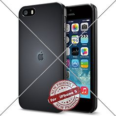 Apple iphone Logo iPhone 5 4.0 inch Case Protection Black Rubber Cover Protector ILHAN http://www.amazon.com/dp/B01ABFMLO6/ref=cm_sw_r_pi_dp_XJjLwb18ZV64R