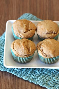gluten free vegan peanut butter banana muffins - baked as directed - add bag mini chocolate chips Gluten Free Muffins, Gluten Free Treats, Healthy Muffins, Gluten Free Baking, Vegan Baking, Vegan Gluten Free, Gluten Free Recipes, Baking Recipes, Vegan Recipes