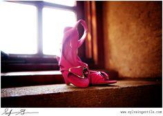 V. Sattui Winery Wedding: Shoe Shot