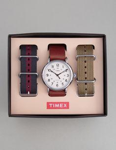 Timex Weekender Watch Multi Strap