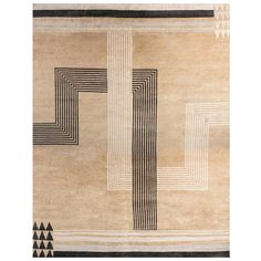 View this item and discover similar for sale at - New oversized Marion Dorn inspired Art Deco geometric wool rug Size: × × 762 cm) Inspired by the works of ingenious artist and designer, Art Deco Rugs, Asian Rugs, Tiles Texture, Geometric Rug, Woven Wall Hanging, Tapestry Weaving, Modern Rugs, Textile Prints, Rustic Interiors