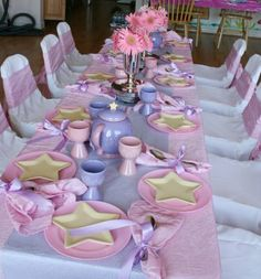 I love this so much! Like a little tea party.... maybe mals 3rd