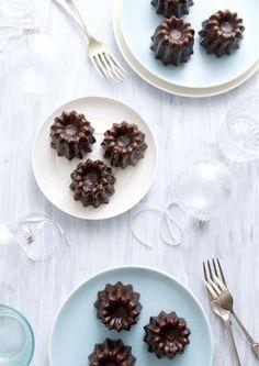 chocolate canneles