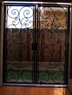 Iron French Door