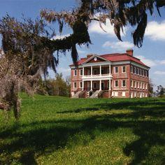 Drayton Hall outside of Charleston, SC