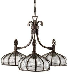 Galeana 3-Light Chandelier - Chandeliers - Lighting | HomeDecorators.com