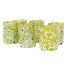 """Search Results for """"hawkins new york confetti glassware old fashioned glass set of 6 – domino Green Table, Old Fashioned Glass, Inspired Homes, Colored Glass, Confetti, Candle Holders, Style Inspiration, Design, York"""