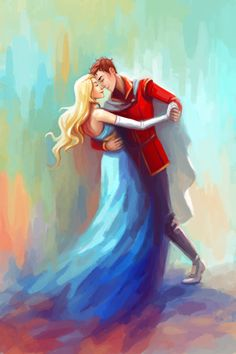 probably one of my favorite Celaena and Chaol fan arts