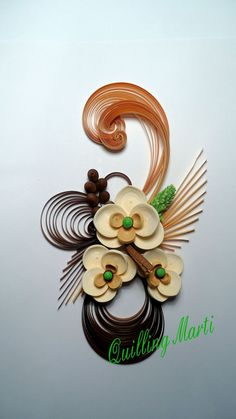 Quilling Marti: quilling orchid