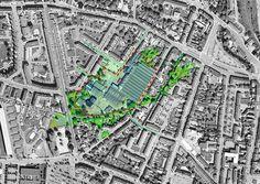 """Development plan for """"Spinderierne"""", Vejle  C.F. Møller"""