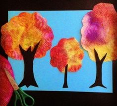 Coffee Filter Trees
