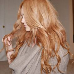 Touch-able, Luscious, Light Red Locks