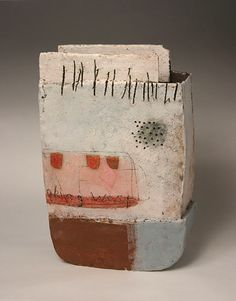 Ceramics by Craig Underhill at Studiopottery.co.uk - 2012. Looking West, 33cm high