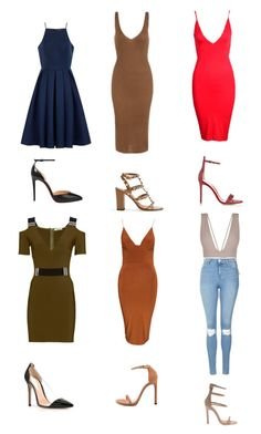 """""""Untitled #2391"""" by msdiva07 ❤ liked on Polyvore featuring Thierry Mugler, Valentino, Club L, Chi Chi, Topshop, Christian Louboutin, Gianvito Rossi and Stuart Weitzman"""