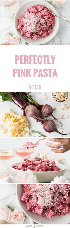 Jillian Harris | Perfectly Pink Pasta Recipe | Vegan  #food #pinkpasta #pasta #recipe #vegan