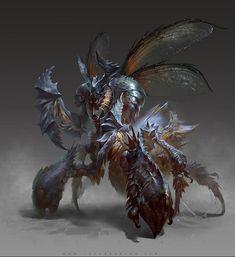 """Beetle"" by Yu Cheng Hong (yuchenghong) | #Fantasy"