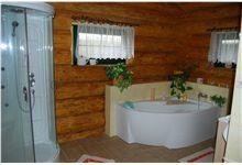 Log Homes Bathrooms Log Home Bathrooms, Log Homes, Bathtub, Timber Homes, Standing Bath, Log Cabin Bathrooms, Bathtubs, Log Cabin Homes, Bath