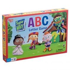 University Super Why! Board Game