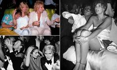Inside Studio 54: Fascinating photographs reveal what stars REALLY got up to in world's most famous nightclub