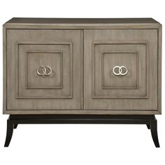 Vanguard Furniture Accent and Entertainment Chests and Tables Forrester Transitional Accent Chest with Doors