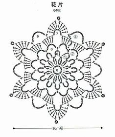 Steel bouquet - Erika Baráth Emilné - Baráth Emilné ERIKA bouquet Steel- barath bouquet emilne erika steel - Her Crochet Crochet Bedspread Pattern, Crochet Snowflake Pattern, Crochet Motifs, Crochet Snowflakes, Crochet Flower Patterns, Crochet Mandala, Crochet Diagram, Crochet Stitches Patterns, Crochet Chart