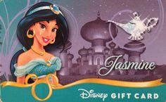Disney Jasmine gift card