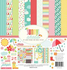Echo Park - Sunny Days Ahead 12x12 Collection Kit