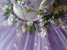 Lilac fairy tutu by Margaret Shore
