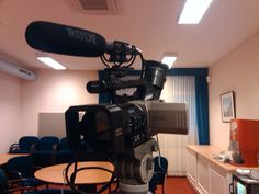 February 10th, 2011.    In a backroom, filming people who want to address videomessages to a retiring judge.  At 'In de Driehoek' in Utrecht.