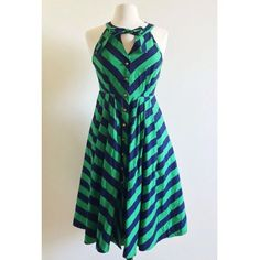 Girls from Savoy Emerald Ripple dress 2 Worn only once! Only selling because it is a bit big for me. Label size 2. Anthropologie Dresses Midi