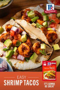Best Seafood Recipes, Shrimp Recipes For Dinner, Shrimp Recipes Easy, Seafood Dinner, Fish Recipes, Mexican Food Recipes, Vegetarian Recipes, Cooking Recipes, Healthy Recipes