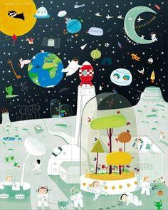 Nicolas Gouny 儿童插画欣赏