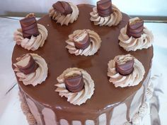Layer cake au kinder bueno