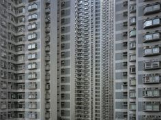 """from series """"An Architecture of Density"""" / by Michael Wolf"""