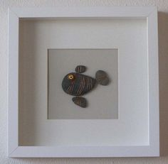 Unique  decorative stone fish wall art by MaryandLuisa on Etsy, €55.00