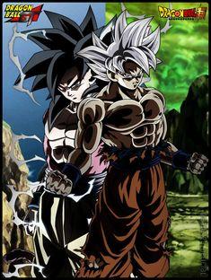Son Goku Super Saiyan 4 - Mastered Ultra Instinct by AlAnas2992.deviantart.com on @DeviantArt