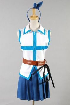 Fairy Tail Lucy Heartfilia Cosplay CostumeCustom-made by cossky